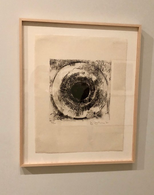 Jasper Johns, Target, 1960, Lithograph on Paper, The Broad, Los Angeles